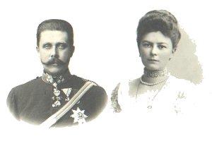 Franz Ferdinand og hans hustru Sophie