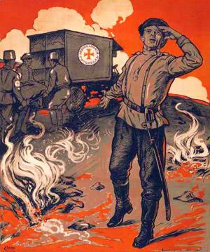 amerikansk ambulance i Rusland under 1. Verdenskrig