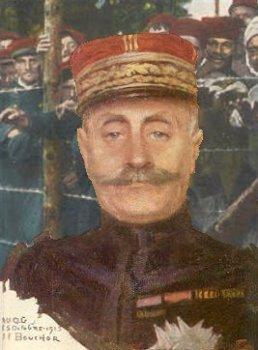 Ferdinand Foch, - foran franske krigsfanger