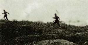 Vinden vendte - tyske soldater der flygter fra gas