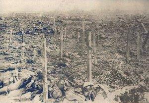 et billede fra slagmarken