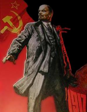 Lenin plakat med reference til 1917