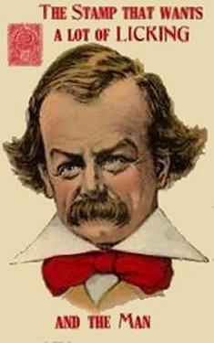 en karikatur af Lloyd George