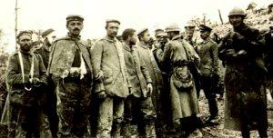 Tyskere taget tilfange ved Verdun