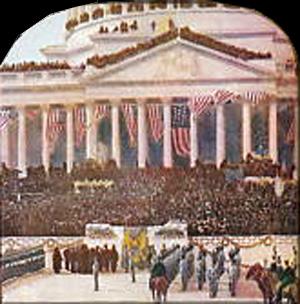 billede fra Roosevelts indsættelse