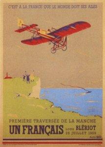 Fransk hyldest plakat af Blériot