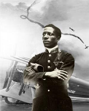 Eugene Black - amerikansk neger som blev fransk pilot