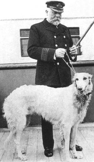 Kaptajn Smith med hunden Ben