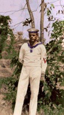 Tysk sømand interneret på Honolulu under 1.Verdenskrig
