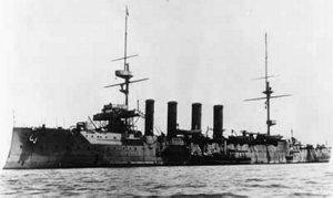 Panserkrydseren HMS Hampshire