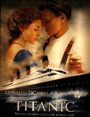 Plakaten til filmen Titanic