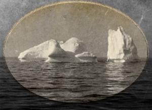 Isbjerget Titanic sejlede ind i