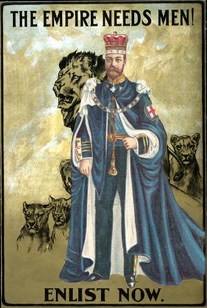 Postkort af George V