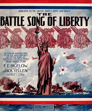 Cover til Song of Liberty