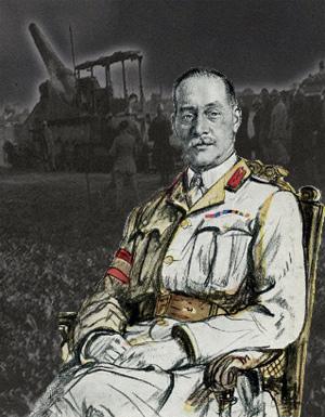 Sir H. E. Watts som var ledede 7th Division ved Somme