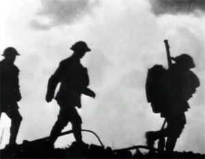 engelske soldater under slaget ved passchendaele