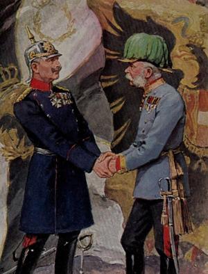 De to Kejsere fraØstrig og Tyskland