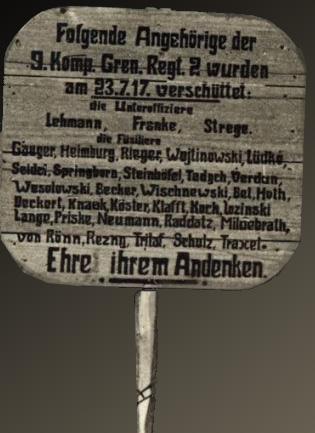 tysk bunker efter fuldtræffer