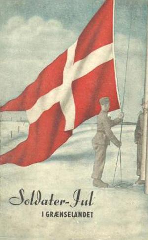 Forside til et blad om soldater jul i grænselandet