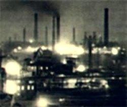 Foto af tysk krigsindustri
