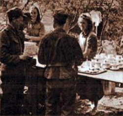 Finske soldater får forplejning