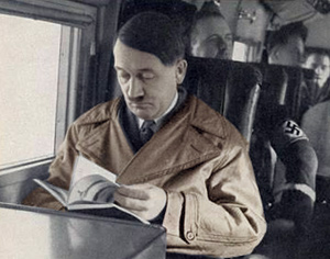 Hitler under transport