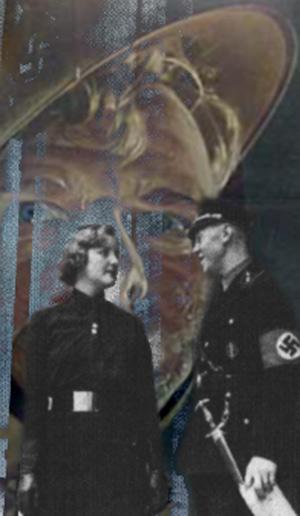 unity i samtale med tysk nazist