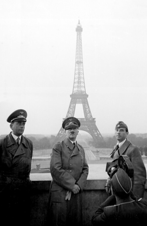 Albert Speer og Hitler i Paris
