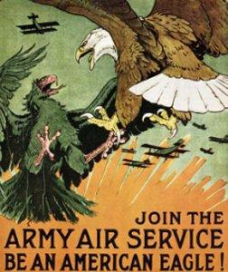 Amerikansk 1. Verdenskrigs propaganda plakat
