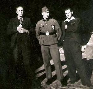 Dansk SS og to håndlangere