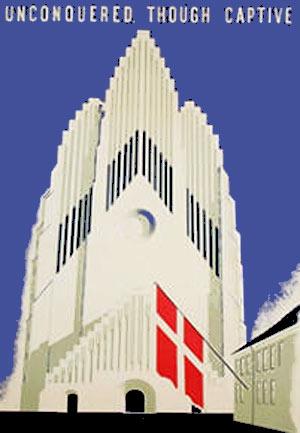 En kirke, Dannebrog & Captive