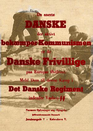 Danske frivillige i kamp mod Bolsjevismen