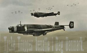 tyske fly i luften