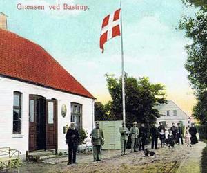 Den Dansk-tyske grænse ved Bastrup