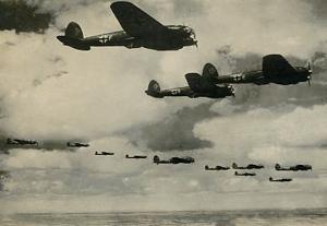 Tyske bombefly over England