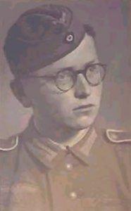 Billede af ung tysk soldat