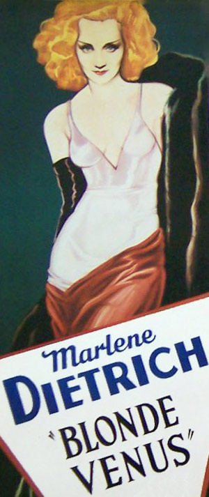 Marlene Dietrich plakat