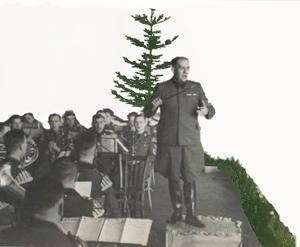 Tyske musikere spiller julemusik