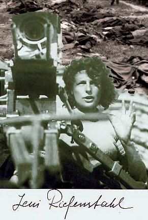 manipoleret foto af Leni Riefenstahl