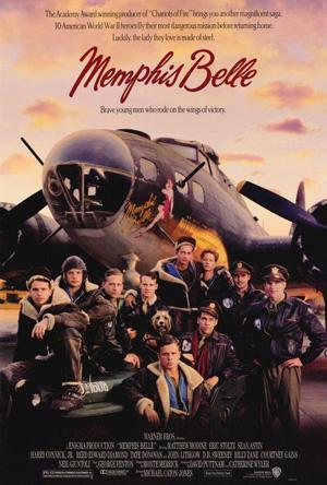 Filmplakaten til Memphis Belle