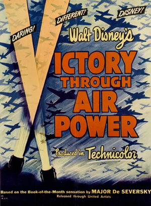 En plakat til filmen Victory through air Power
