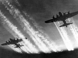 Flyvende fæstninger i luften