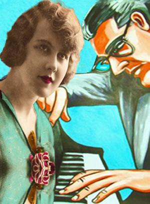 En klaverpionist og en pige