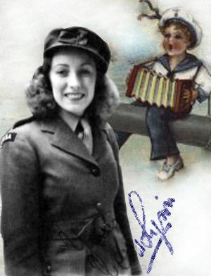 Vera Lynn i uniform