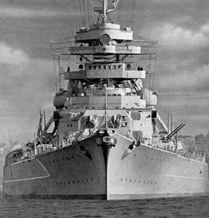 Bismarck forfra