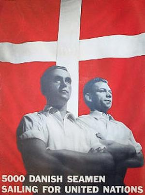 5000 danske sømænd i Allieret tjeneste