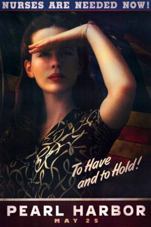 Plakat med teksten Pearl Harbor