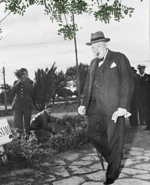 Portræt af Charles de Gaulle