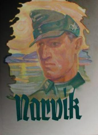 Tysk faldskærmssoldat og Narvik