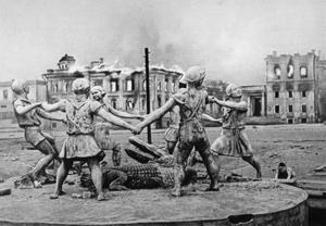 Statuen Alligator Dans i Stalingrad